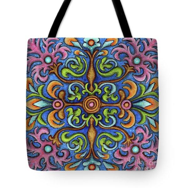 Botanical Mandala 2 Tote Bag