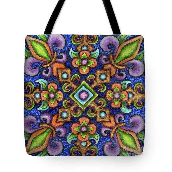 Botanical Mandala 3 Tote Bag