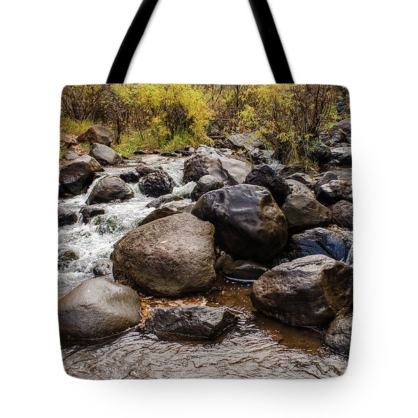 Boulders In Creek Tote Bag