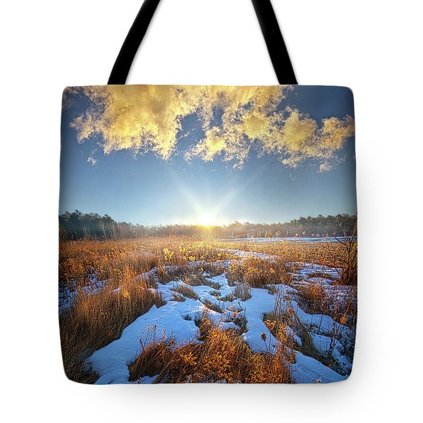 Bound Within The Silence Tote Bag