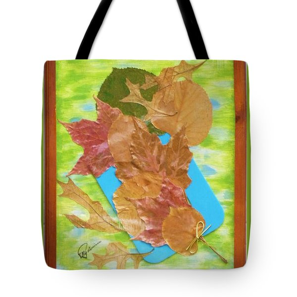 Bouquet From Fallen Leaves Tote Bag