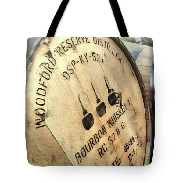Bourbon Barrel Tote Bag