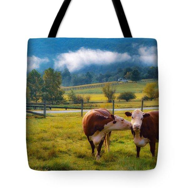 Bovine Love Tote Bag
