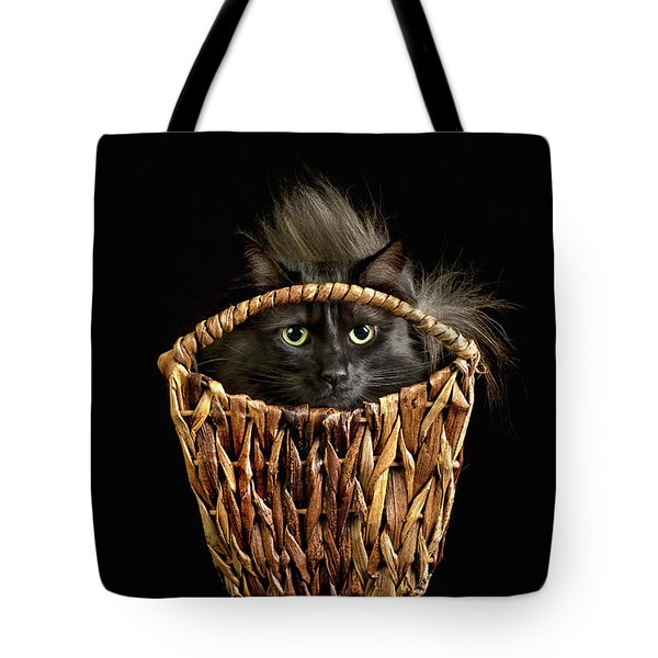 Boyfriend In A Basket Tote Bag