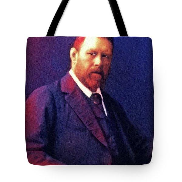 Bram Stoker, Literary Legend Tote Bag