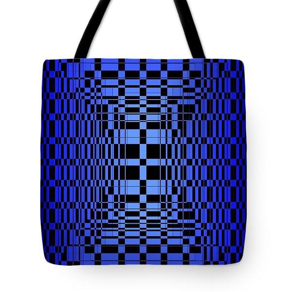 Brave Blue  Tote Bag