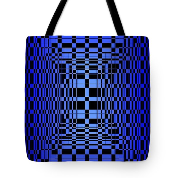 Brave Blue  Tote Bag