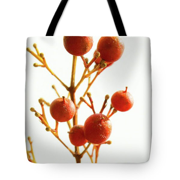 Brazilian Pepper 0482 Tote Bag