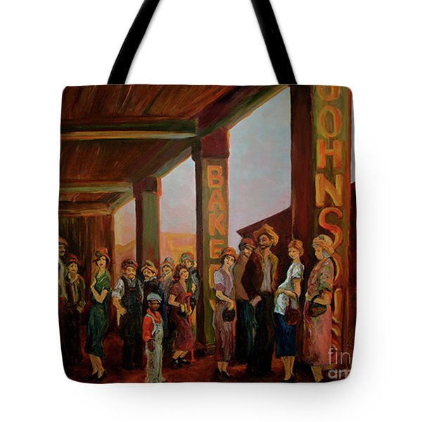 Bread Line Tote Bag
