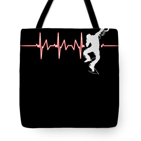 Break Dancing Heartbeat Dancing Dancers Jazz Hiphop Ballet Music Gift Tote Bag