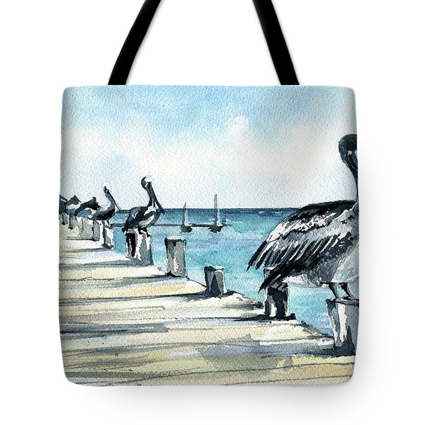 Breakfast For Four Tote Bag