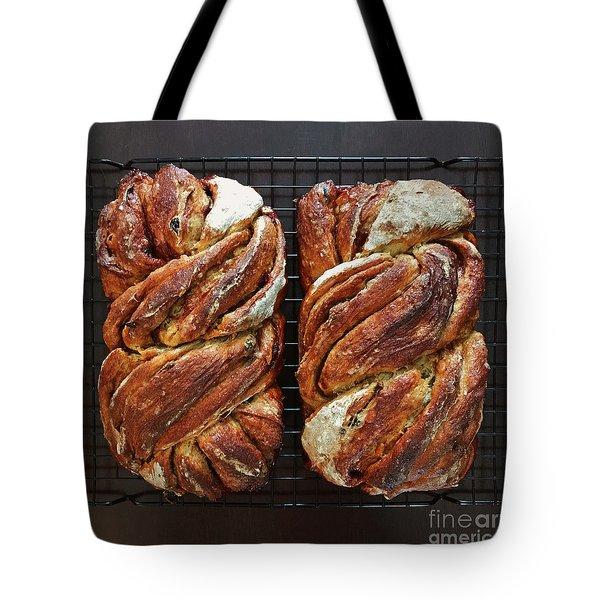 Breakfast Sourdough Swirls Tote Bag