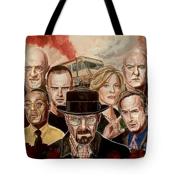 Breaking Bad Family Portrait Tote Bag