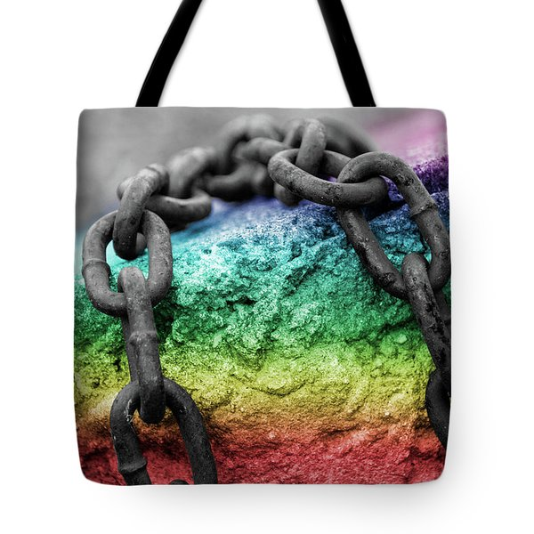 Breaking The Chains Tote Bag
