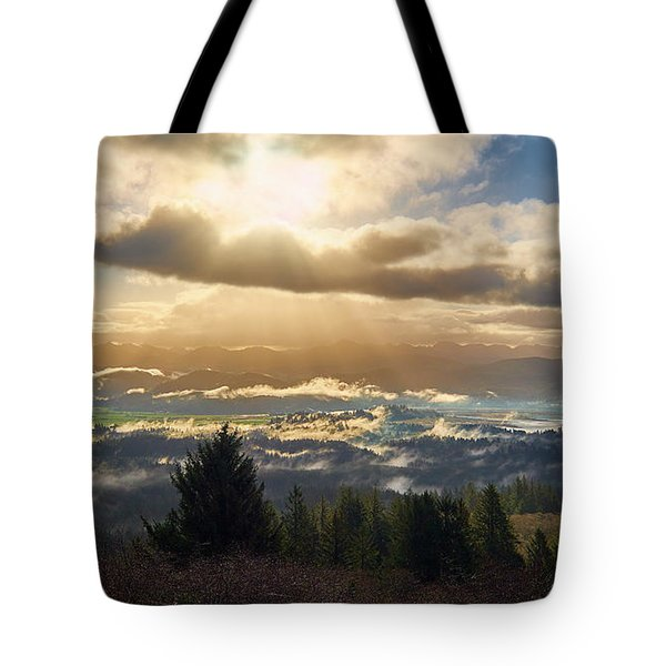 Tote Bag featuring the photograph Breakthrough by Whitney Goodey