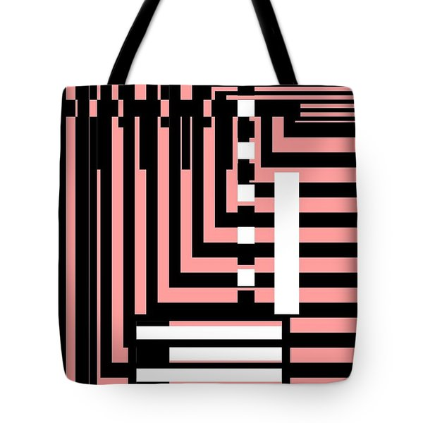 Breathtaking Linear Walls Tote Bag
