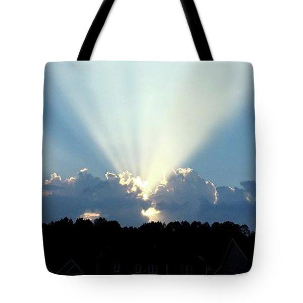 Breathtaking Sky Tote Bag