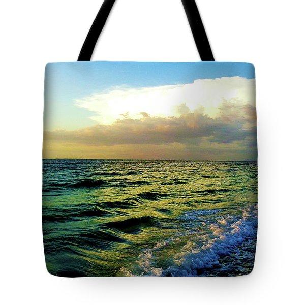 Brewing Storm Tote Bag