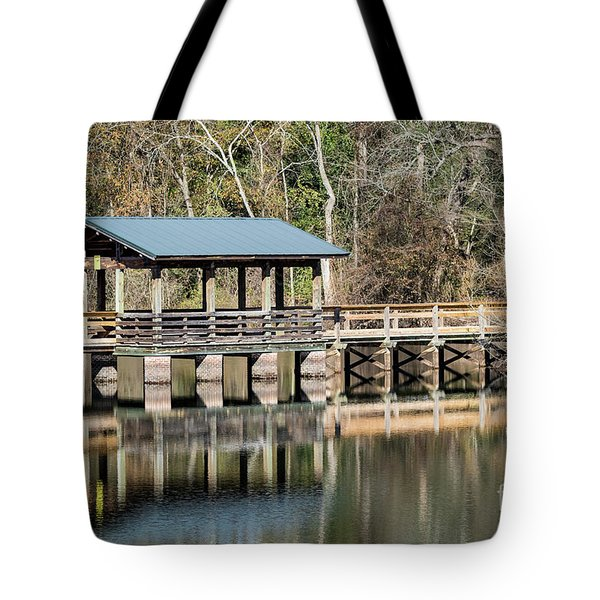 Brick Pond Park - North Augusta Sc Tote Bag