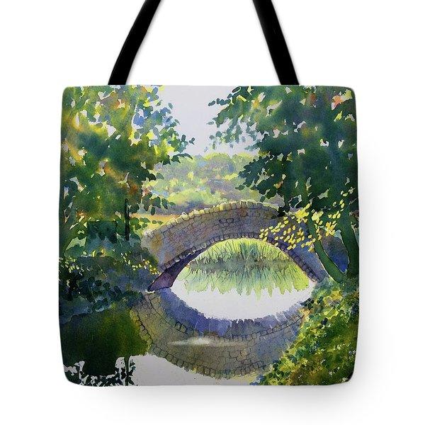Bridge Over Gypsy Race Tote Bag