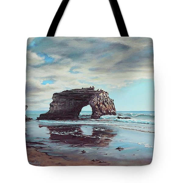 Bridge Rock Tote Bag