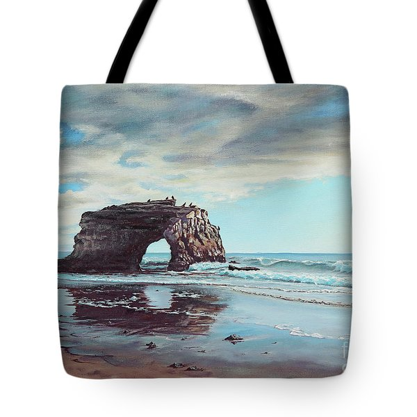 Bridge Rock Tote Bag