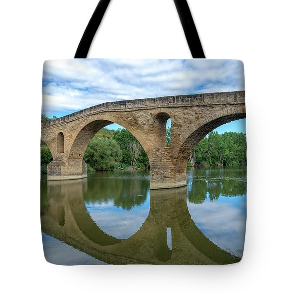 Bridge The Queen On The Way To Santiago Tote Bag