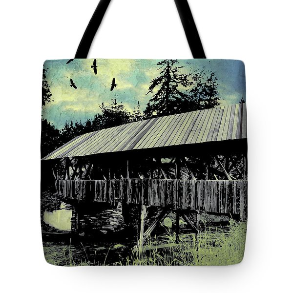 Bridge V Tote Bag