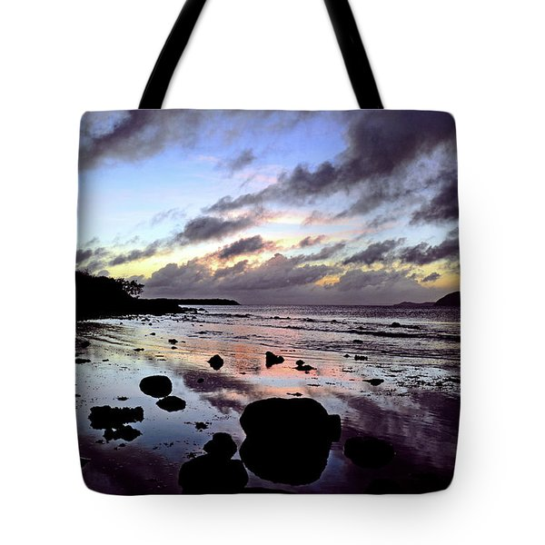 Bright Mirror Of Sunset Light Tote Bag