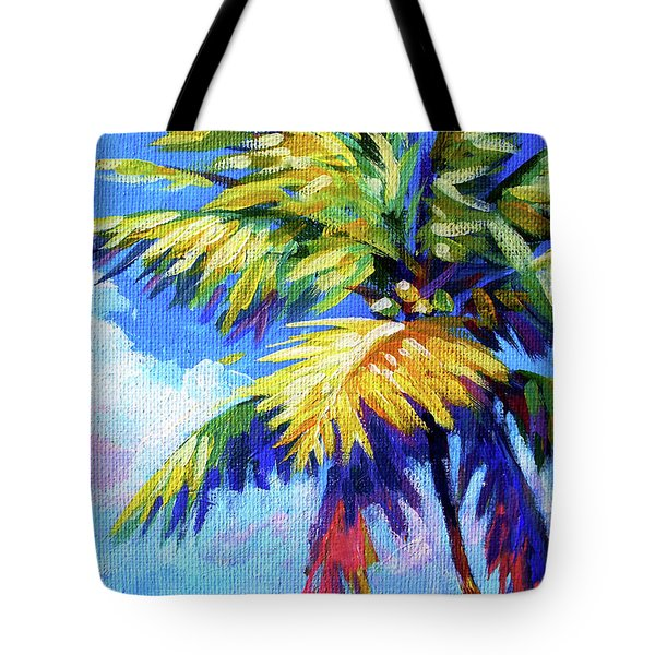 Bright Palm Tote Bag