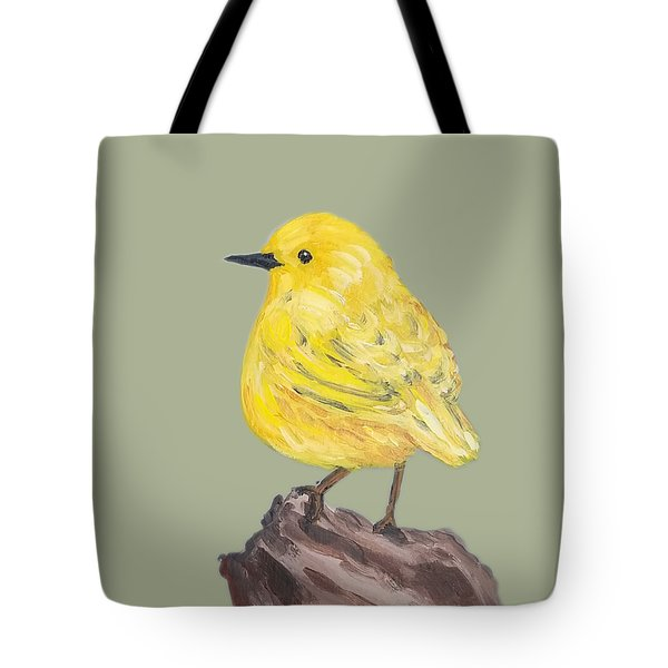 Tote Bag featuring the painting Bright Spot #2 by Maria Langgle