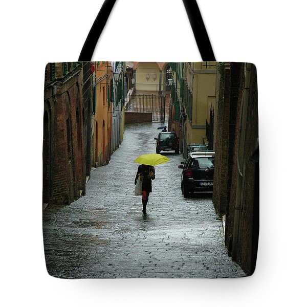 Bright Spot In The Rain Tote Bag