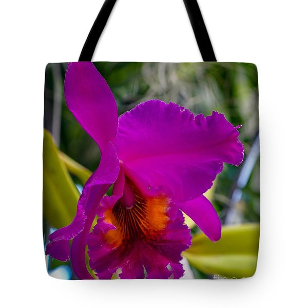 Brilliant Orchid Tote Bag