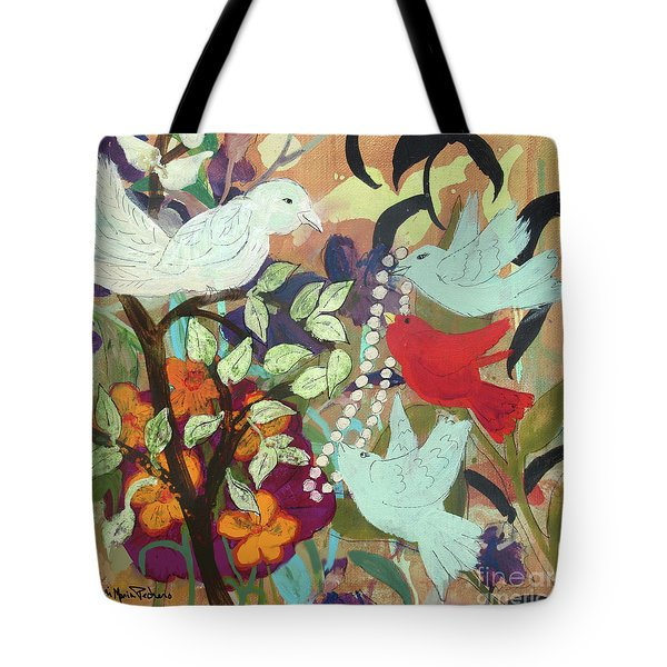 Bringin' Momma Beads Tote Bag