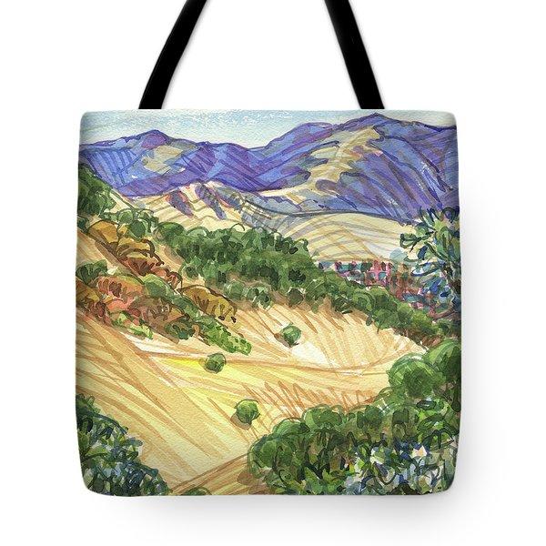 Briones From Mount Diablo Foothills Tote Bag