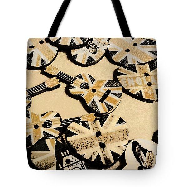 British Punk Rock Tote Bag