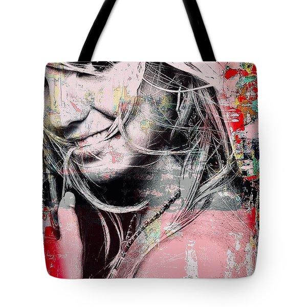 Britney Baby Tote Bag