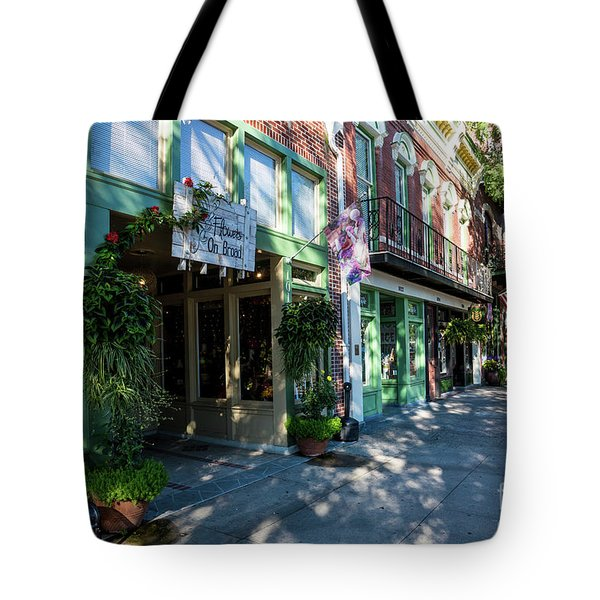 Broad Street Downtown Augusta Ga Tote Bag