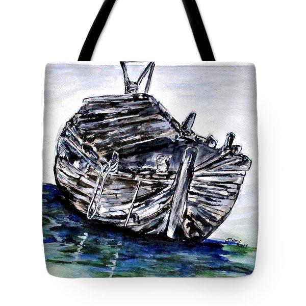 Broken But Afloat Tote Bag
