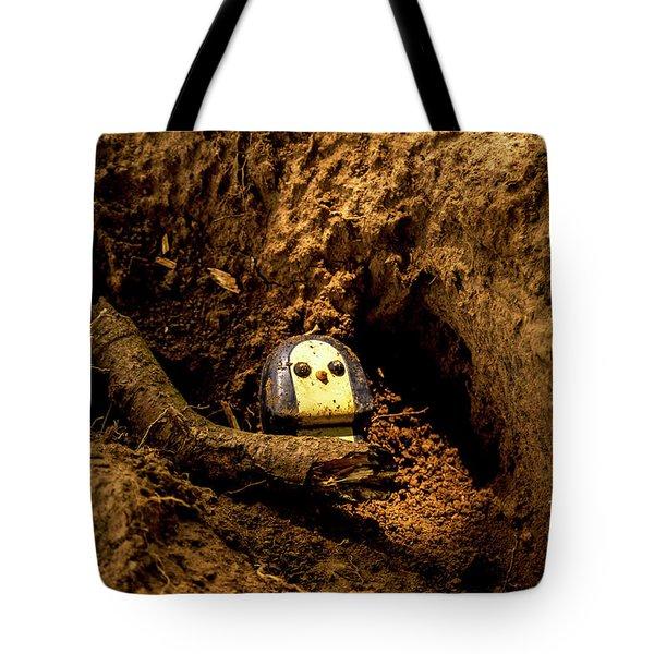 Broken Dolly Tote Bag
