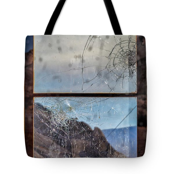 Tote Bag featuring the photograph Broken Dreams by Laura Roberts