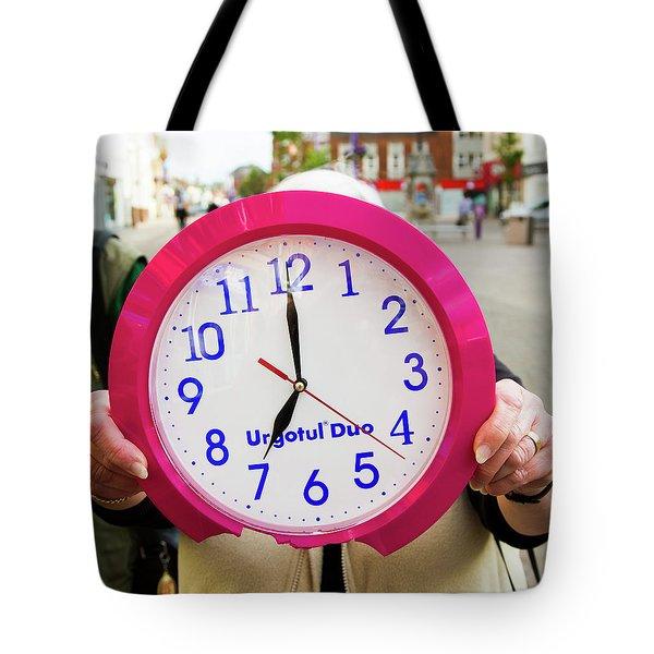 Broken Time Tote Bag