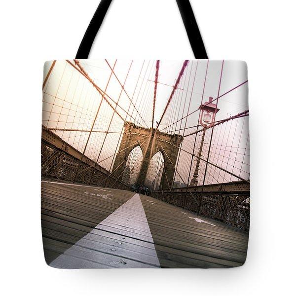 Brooklyn Bridge, New York City Tote Bag