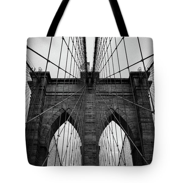 Brooklyn Bridge Wall Art Tote Bag