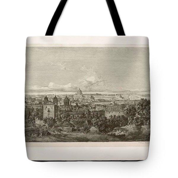 Brown  August Emil 1809 1856 Dr Emil Braun S Panorama Of Rome Tote Bag