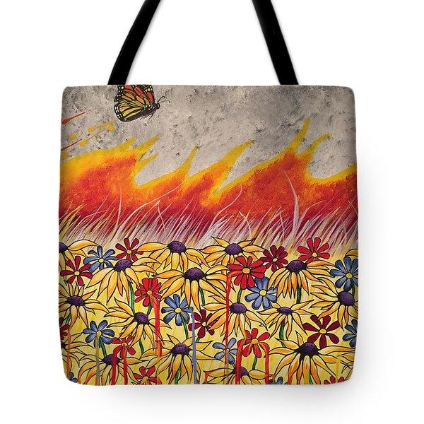 Brushfire Tote Bag