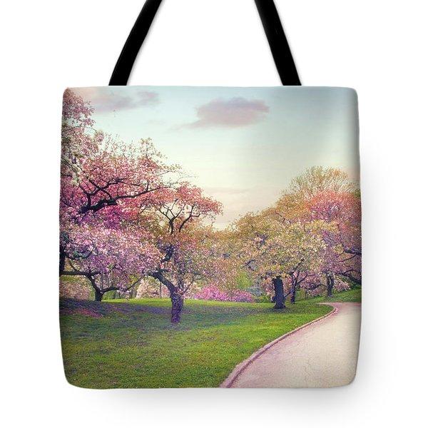 The Cherry Path Tote Bag