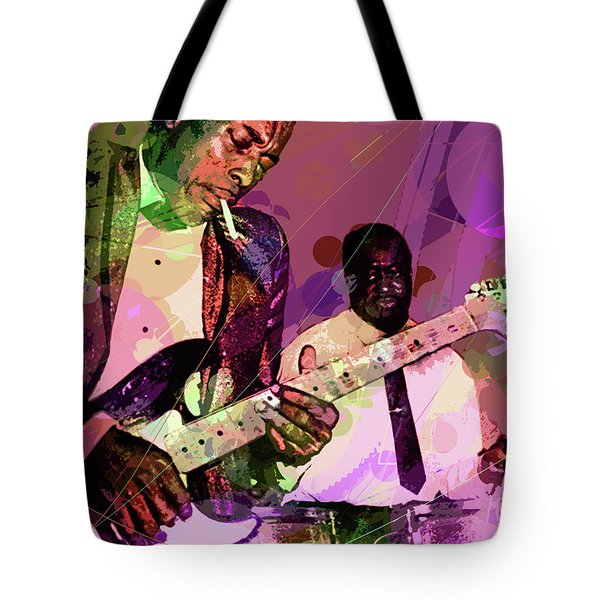 Buddy Guy 1965 Tote Bag