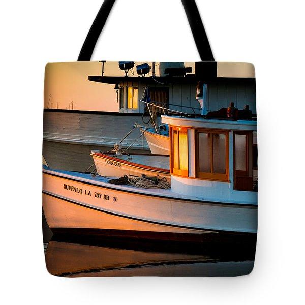 Buffalo Boat Tote Bag