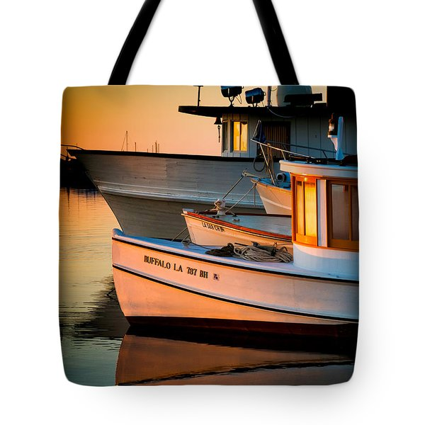 Buffalo Boat Tote Bag